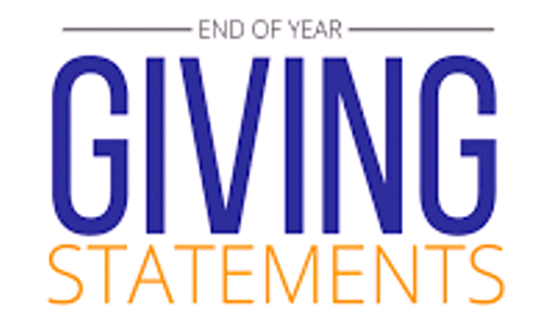 End-of-Year Contribution Statement
