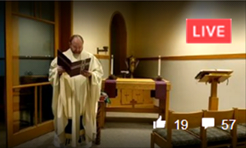 How to Watch Live-Stream Mass without a Facebook account