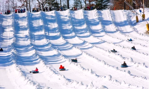 High School Snow Tubing