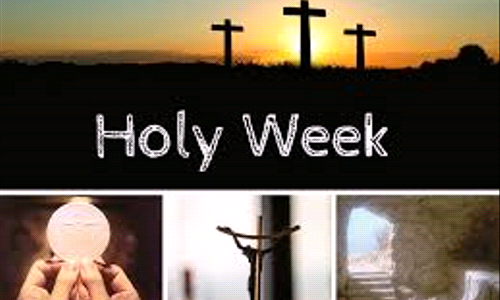 2020 Holy Week and Easter Live-Stream Masses